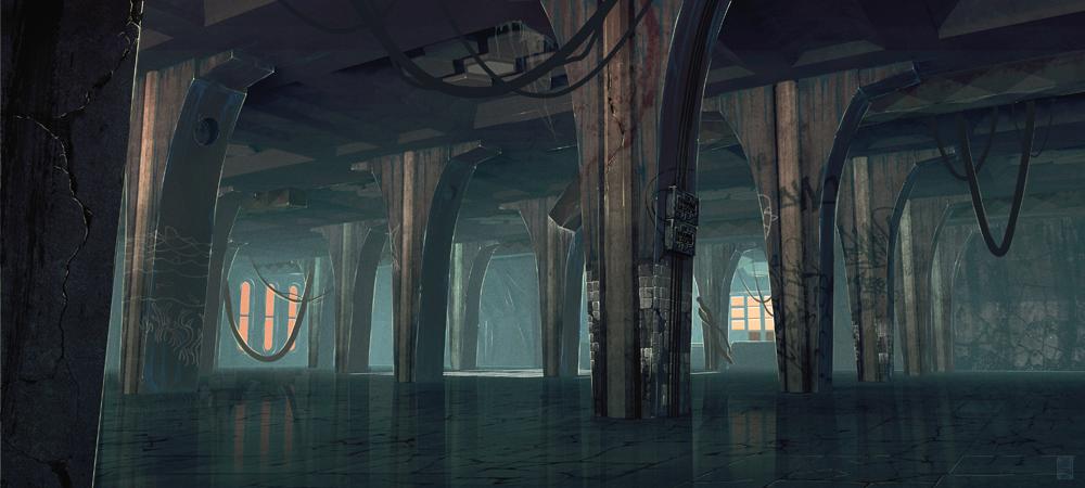 FISHTANK_Concept_hall_columns_CarlosSalgado